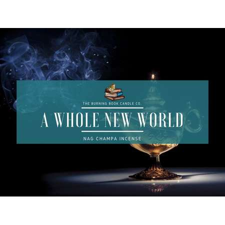 A Whole New World - Soy Candle - Aladdin thumb