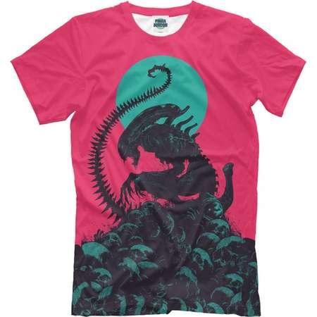 Alien T-shirt, 3d full print shirt Alien thumb