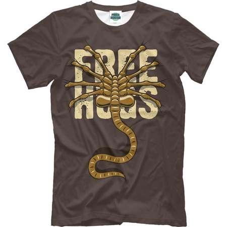 Alien free hugs T-shirt, 3d full print shirt Alien free hugs thumb