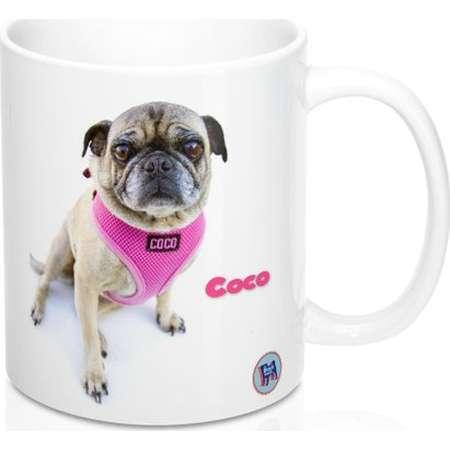 Coco The Pug Mug 11Oz thumb