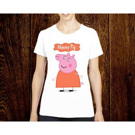 bcff7bbeb Mommy Pig Birthday Shirt, Peppa Pig Custom Shirt, Personalized Peppa Pig  Shirt, Peppa Pig family tee, Birthday t-shirt for girls and boys