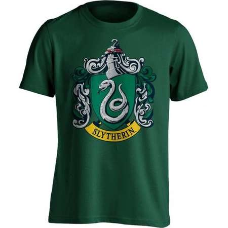 Harry Potter Slytherin Crest Green Men's Short Sleeved T-Shirt thumb