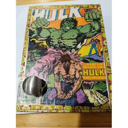 The Incredible Hulk covered cigar box thumb