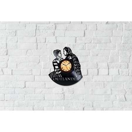 Outlander Gifts Vinyl Record Art Home Decor Outlander Vinyl Clock Unique Wall Clock thumb