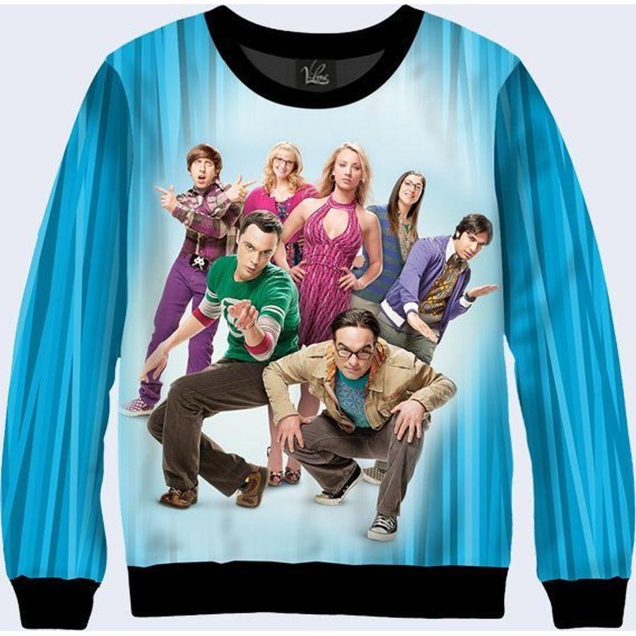 "00/'s TV Classic The Big Bang Theory Sheldon /""Nervous Ticks/"" custom tee Any Size"