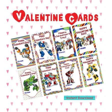 Rescue  Digital Valentine Card thumb