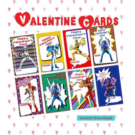 Rangers Digital Valentine Card thumb
