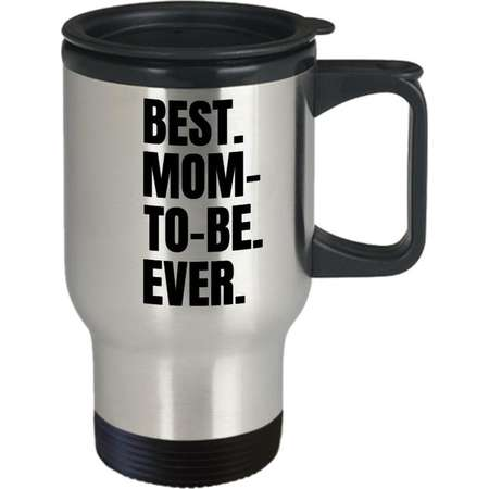 Mom-to-be travel mug, gift for pregnant woman, future mom gift coffee tea coco go cup thumb