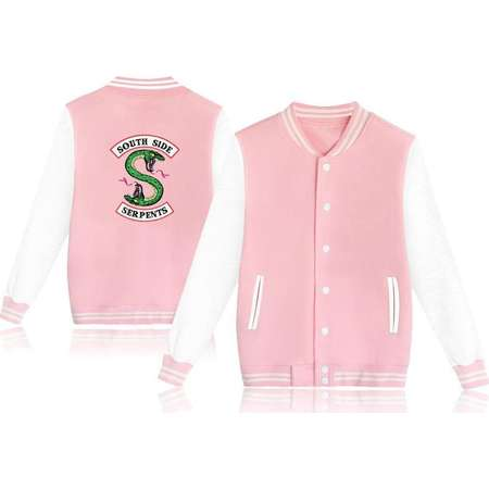 Southside Serpents Riverdale Varsity Jacket Trendy fun cool summer winter fashion warm nice comfortable popular style 2019 jacket coat thumb