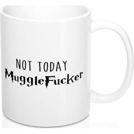 9bc99fd8b00 Not Today MuggleFucker Mug - Harry Potter Inspired Mug - Coffee Mug - Gift  - Mug