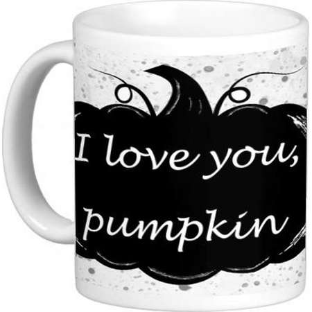 Pumpkin and Honey Bunny Mug. Pulp Fiction Inspired. I love you. thumb