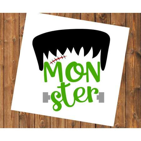 Free Shipping-Monster Momster, Frankenstein, Halloween Decal Sticker, The Adams Family, Hocus Pocus, Salem Black Cat, Haunted thumb