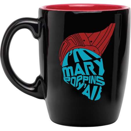 I'm Mary Poppins Y'all Guardians Of The Galaxy Yondu Coffee Cup 12oz thumb