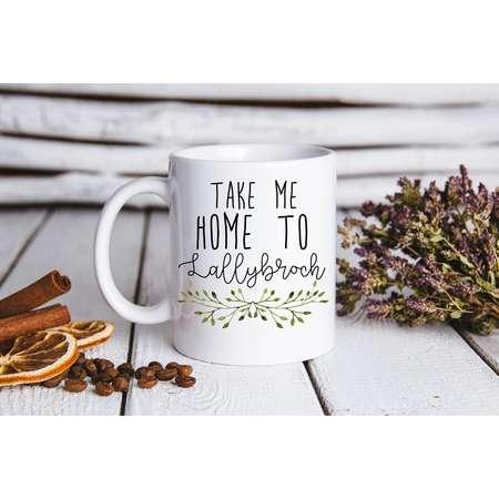 Outlander take me home to lallybroch Jamie Fraser Claire Fraser Coffee Mug thumb