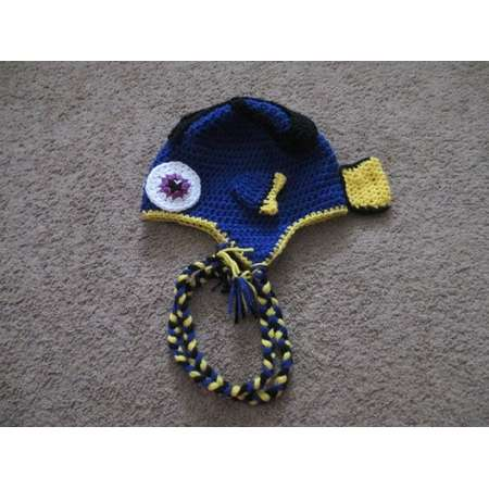 3e2ebadc83244 Crocheted Inspired DORY Hat inspired by Finding Nemo-Costume-Dress up-Photo  Prop