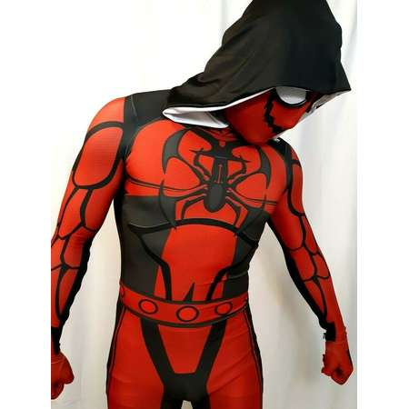 The Agent Carnage Hoodie Spider-Man 3D Printing Cosplay Costume thumb