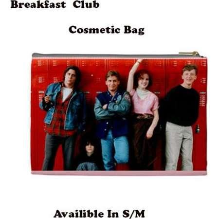 Breakfast Club Cosmetic Bag, Cosmetic Bag, Make Up Bag, 80's, 80's films,  molly ringwald, breakfast club, sixteen candles thumb