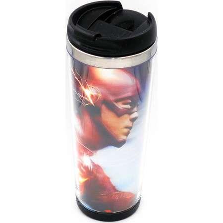 New Coffee Mug Super Hero The Flash Creative Coffee Cup for Adults Water Tea Milk Leak Proof Stainless Steel Travel Mug Gift 400 ML thumb