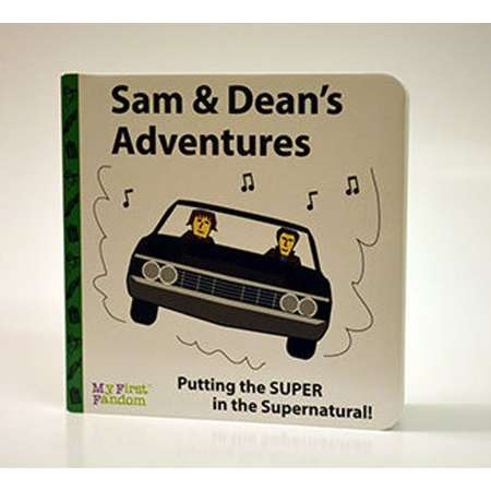 Sam and Dean's Adventures, Supernatural story, kids board book thumb