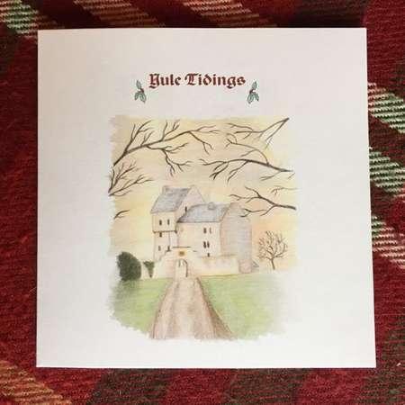 Lallybroch Christmas card  Yule tidings - Outlander thumb