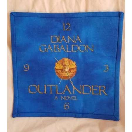 Clock - Quilted Outlanderish Style   Inspired By the book covers they resemble thumb