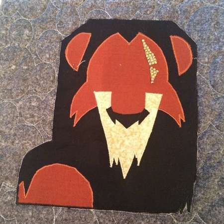 Disney Villain Scar Minimalist Applique Pattern - Inspired by Disney's The Lion King thumb