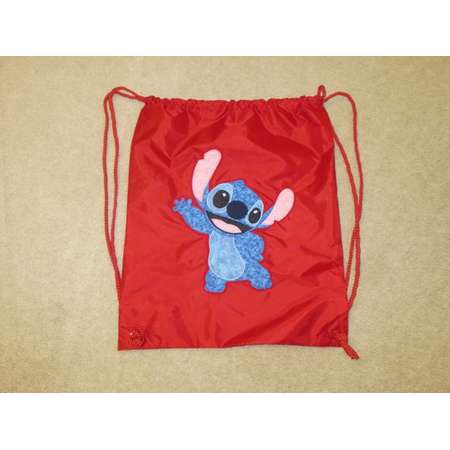 STiTCH ALieN from LiLo and STiTCH Custom Boutique T SHIRT Tee HoLiDaY Drawstring Backpack Bag thumb
