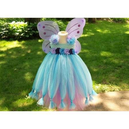 Abby Cadabby Inspired tutu dress; Toddler girl Halloween costume; Sesame Street dress; Fairy tutu costume dress; Abby Cadabby costume thumb
