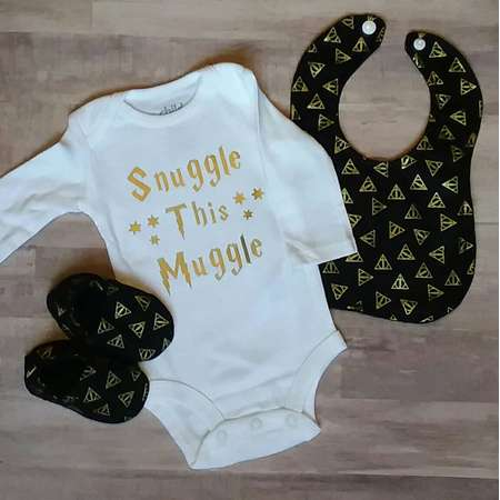 5dac262fb Harry Potter Baby Clothes, Harry Potter Bodysuit, Snuggle This Muggle, Baby  Boy Clothes, Baby Shower Gift, Bibs, Booties, Baby Shoes, Gifts