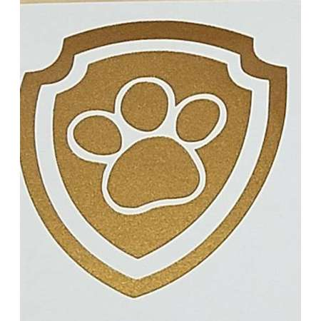 Paw Patrol Vinyl Sticker / Vinyl Decal / Laptop Decal / Water Bottle Sticker / Car Decal thumb
