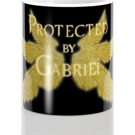 Supernatural Protected by Gabriel Mug and Travel Mug, 3 Sizes/Styles Available! thumb