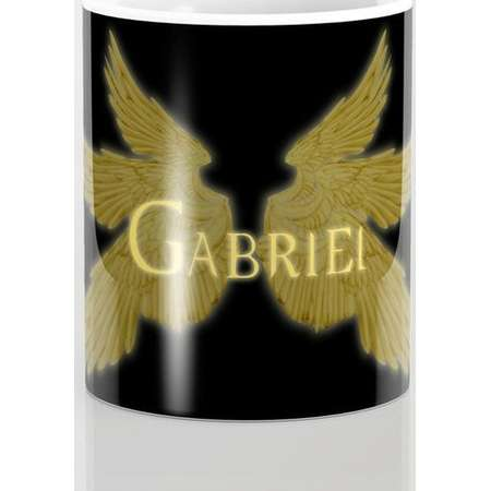 Supernatural Archangel Gabriel with Wings Mug and Travel Mug, 3 Sizes/Styles Available! thumb