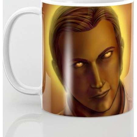 Supernatural Golden Gabriel Mug and Travel Mug, 3 Sizes/Styles Available! thumb