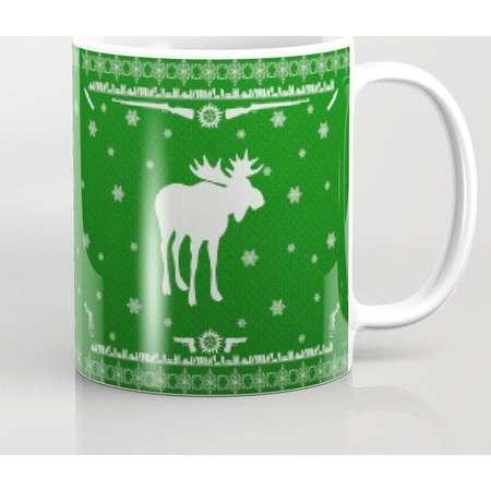 Supernatural Sam Holiday Sweater Mug and Travel Mug, 3 Sizes/Styles Available! thumb