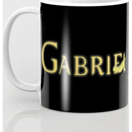 Supernatural Gabriel with Feather Mug and Travel Mug, 3 Sizes/Styles Available! thumb
