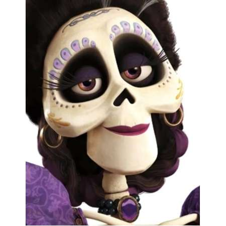 Mama Imelda Costume Temporary Tattoos. Face Temporary Tattoos for Coco Inspired Costume thumb
