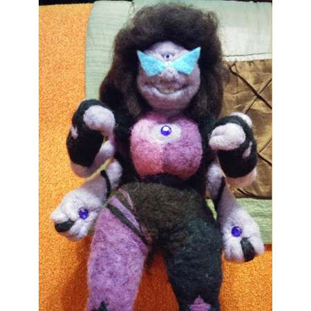 Huge, detailed posable felt plush dolls made to order - Undertale, Steven Universe and more! thumb