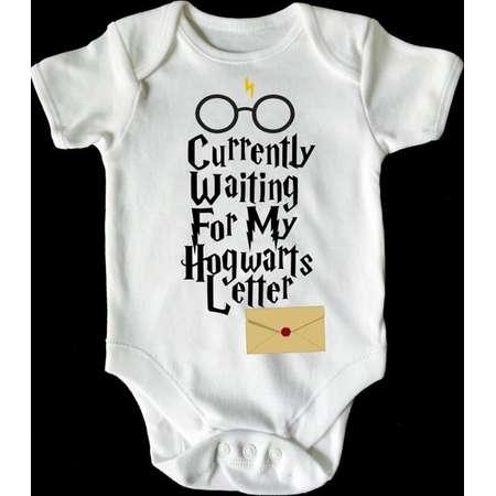 Harry Potter waiting for my hogwarts  baby vest / romper /bodysuit thumb