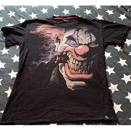 Clown horror t-shirt by darkside werewolf it penywise frankenstein gargoyle dracula ogre goblin monster adams family ghoul mummy thumb