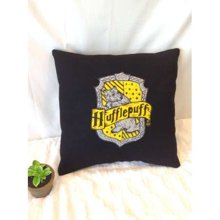 Harry Potter Inspired House Pillows, Hufflepuff, Gryffindor, Ravenclaw, Slytherin thumb