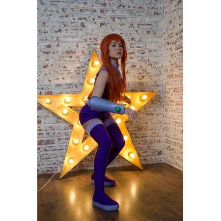 Teen Titans cosplay: Starfire costume, Starfire cartoon inspired outfit thumb