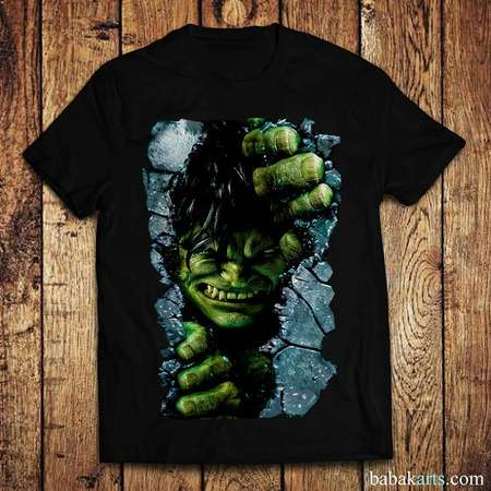 The Incredible Hulk T-Shirt - Hulk Shirt - Superhero Birthday Shirt - Disney Comic Book Shirt - Hulk Digital Print for  Men Women and Kids thumb