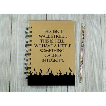 """Supernatural inspired """"This is Hell"""" notebook/journal thumb"""