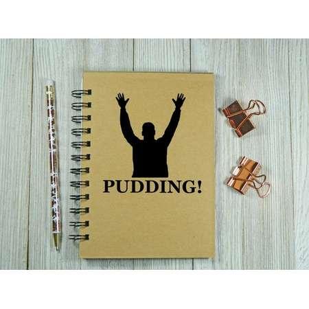 "Supernatural Inspired ""Pudding!"" Notebook/Journal thumb"