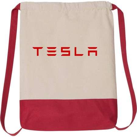 Tesla Model S Model 3 Electric Car Drawstring Backpack Bag #436Bag thumb