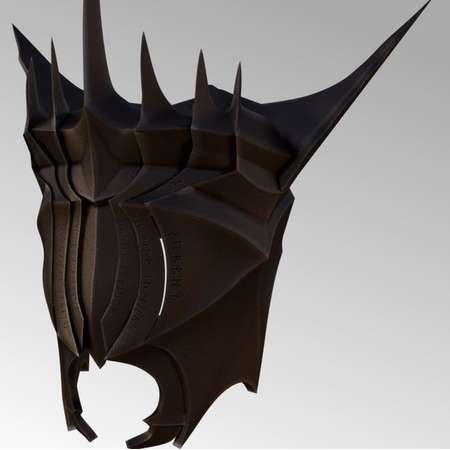 3D Model of Mouth of Sauron from Lord of the Rings thumb