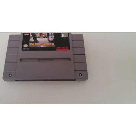Outlander Super Nintendo Entertainment System Game *Cleaned & Tested* SNES thumb