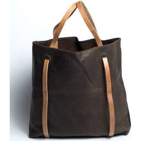 Coco Leather Backpack Tote (Convertible) thumb