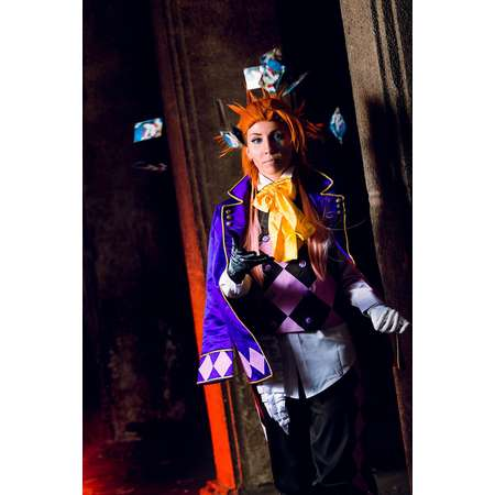 Joker Black Butler Kuroshitsuji (Book of Circus) anime cosplay costume thumb fb1903994109