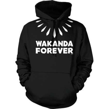 Wakanda Forever Hooded Sweatshirt, NOFO_01303 thumb